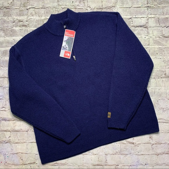 NEW The North Face Alpine Wool Sweater